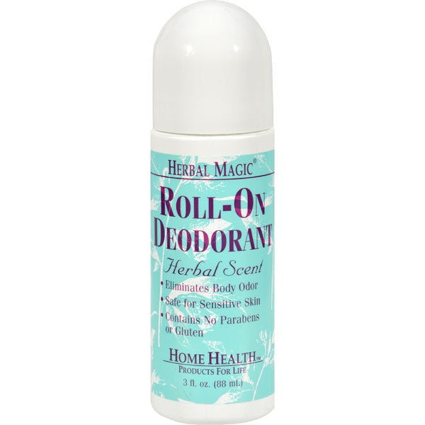 Home Health Roll-On Deodorant Herbal Scent - 3 fl oz - {shop_name}