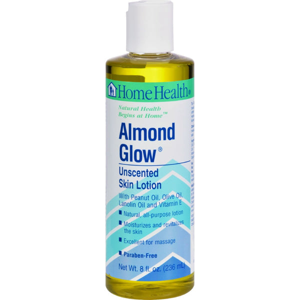 Home Health Almond Glow Skin Lotion Unscented - 8 fl oz - {shop_name}