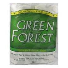 Green Forest Premium Bathroom Tissue - Unscented 2 Ply - Case of 24 - {shop_name}