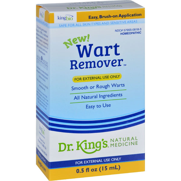 King Bio Homeopathic Wart Remover - .5 oz - {shop_name}