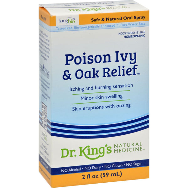 King Bio Homeopathic Poison Ivy Oak Relief - 2 fl oz - {shop_name}