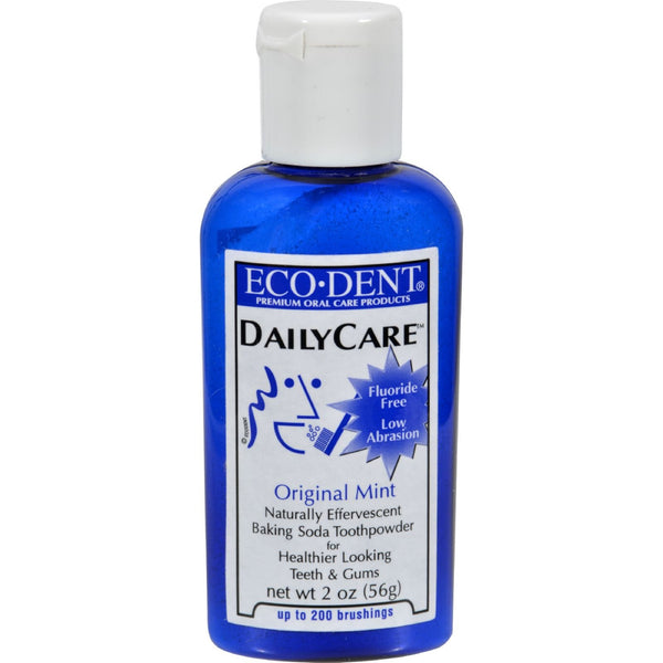 Eco-Dent Toothpowder Daily Care - Mint - 2 oz -Oral Care- Allergy Free Me