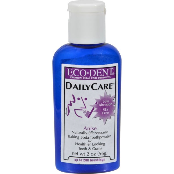 Eco-Dent Toothpowder Daily Care - Anise - 2 oz -Oral Care- Allergy Free Me
