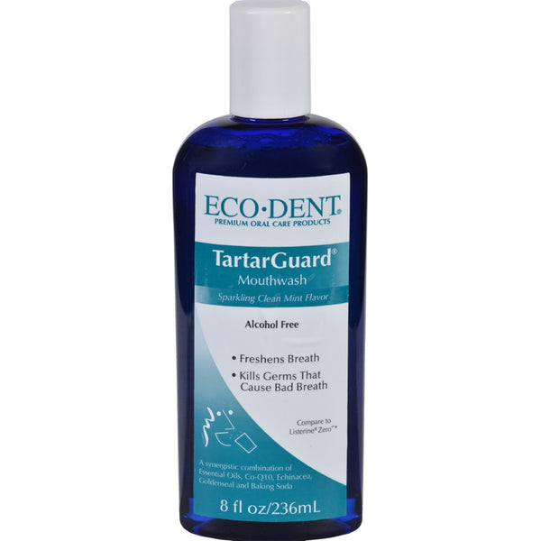 Eco-Dent Mouthwash - Premium Oral Care - TartarGuard - 8 oz -Oral Care- Allergy Free Me