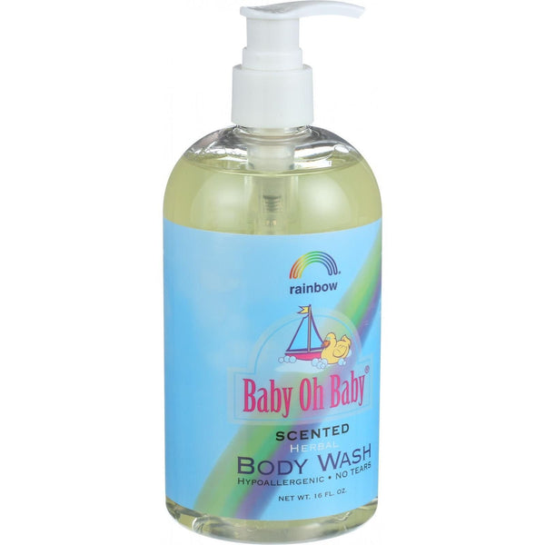 Rainbow Research Baby Oh Baby Herbal Body Wash - Scented - 16 oz - {shop_name}