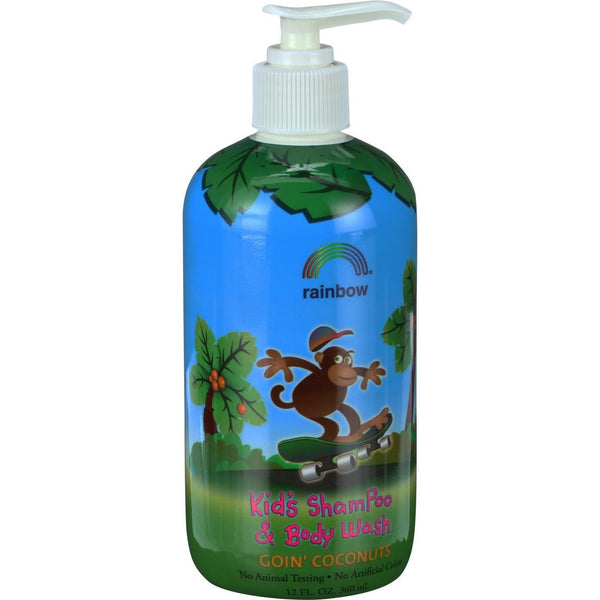 Rainbow Research Kids Shampoo and Body Wash - Goin Coconuts - 12 oz - {shop_name}