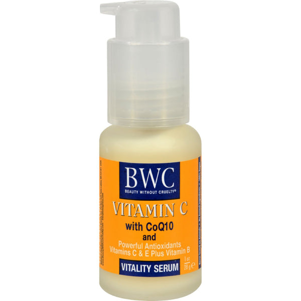 Beauty Without Cruelty Vitality Serum Vitamin C With CoQ10 - 1 fl oz - {shop_name}