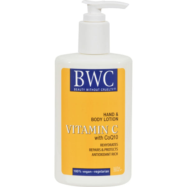 Beauty Without Cruelty Hand and Body Lotion Vitamin C Organic - 8.5 fl oz - {shop_name}