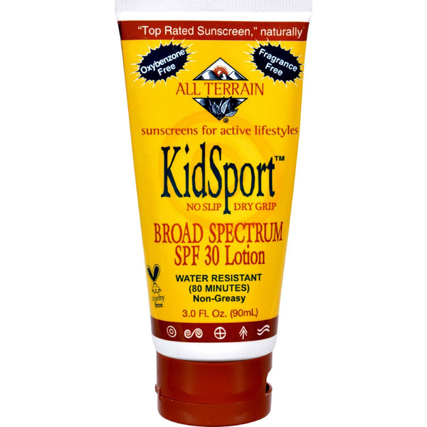 All Terrain Kid Sport Performance Sunscreen SPF 30 - 3 fl oz -Baby Sun Protection- Allergy Free Me