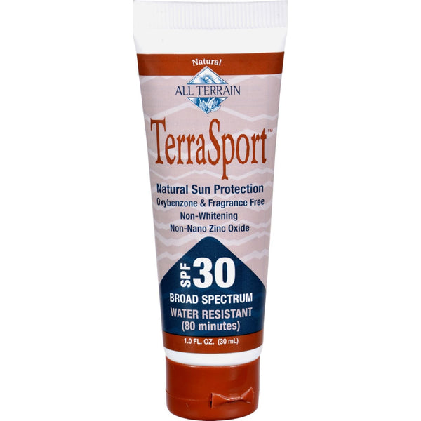 All Terrain TerraSport SPF 30 Sunscreen - 1 fl oz -Sun Protection & Tanning- Allergy Free Me