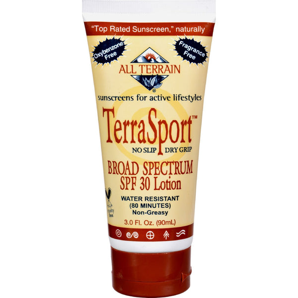 All Terrain TerraSport SPF 30 Sunscreen - 3 fl oz -Sun Protection & Tanning- Allergy Free Me