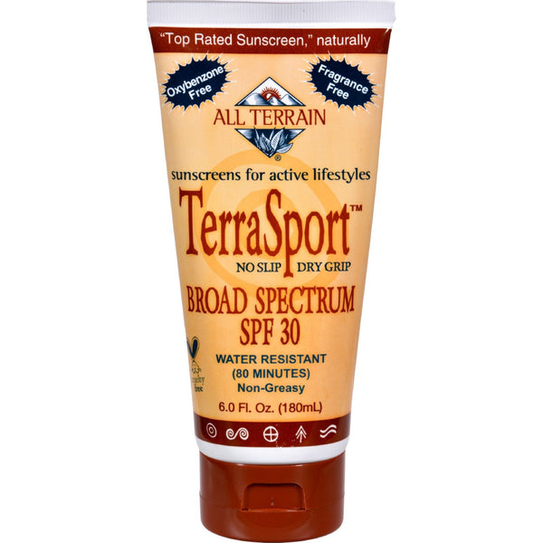 All Terrain TerraSport SPF 30 Sunscreen - 6 fl oz -Sun Protection & Tanning- Allergy Free Me