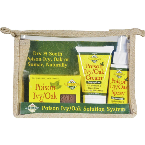 All Terrain Poison Ivy Oak Solution System - 3 Pieces -Medical- Allergy Free Me