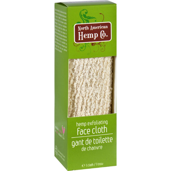 North American Hemp Company Face Cloth - 1 Count -Bath Accessories- Allergy Free Me