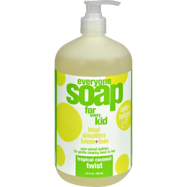EO Products Everyone Soap for Kids - Tropical Coconut Twist - 32 oz - {shop_name}
