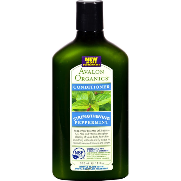 Avalon Organics Revitalizing Conditioner with Babassu Oil Peppermint - 11 fl oz - {shop_name}
