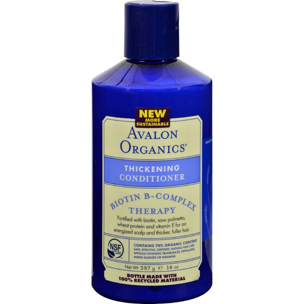 Avalon Organics Thickening Conditioner Biotin B-Complex Therapy - 14 fl oz - {shop_name}