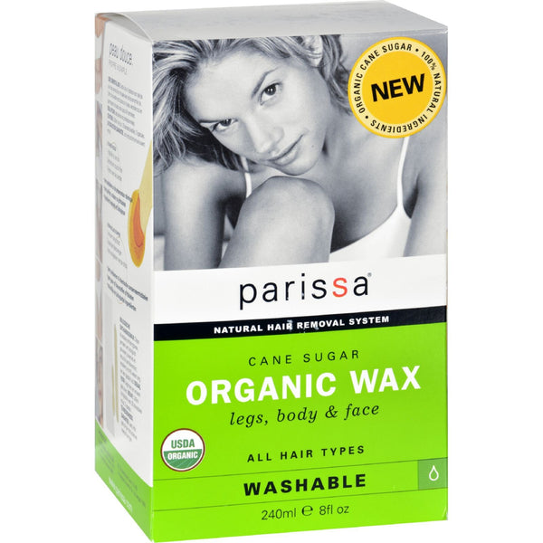 Parissa Hair Removal Wax - Organic - Cane Sugar - 8 oz - {shop_name}