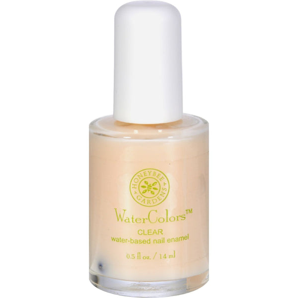 Honeybee Gardens Nail Enamel Clear Water Base - 0.5 fl oz - {shop_name}
