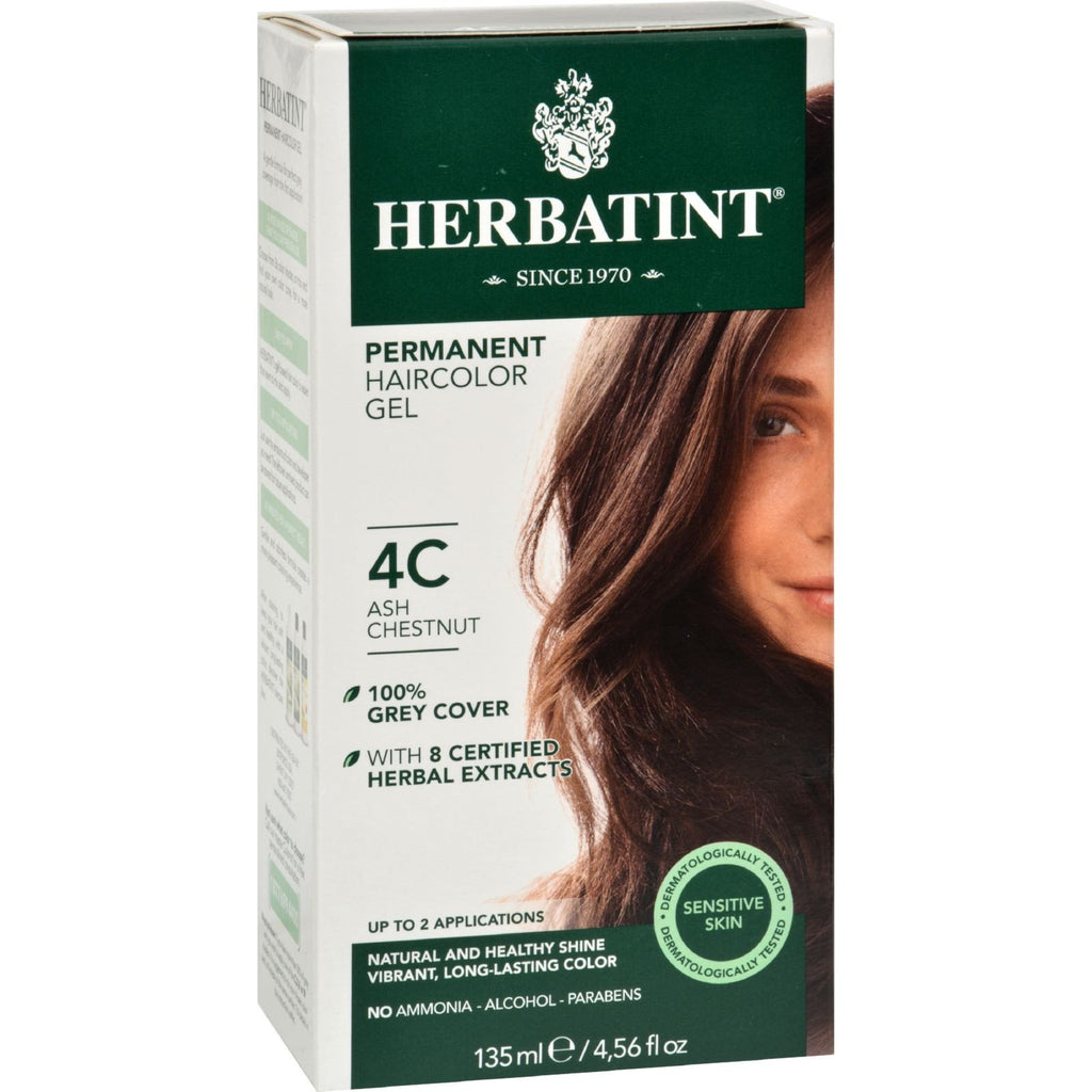 Herbatint Haircolor Kit Ash Chestnut 4C - 4 fl oz - {shop_name}