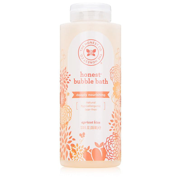 The Honest Company Bubble Bath - Nourishing Apricot Kiss - Case of 1 - 12 Fl oz. - {shop_name}