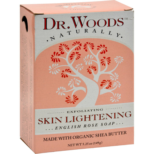 Dr. Woods Bar Soap Skin Lightening English Rose - 5.25 oz - {shop_name}