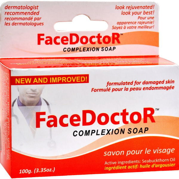 Face Doctor Complexion Soap - 3.35 oz -Facial Cleanser- Allergy Free Me