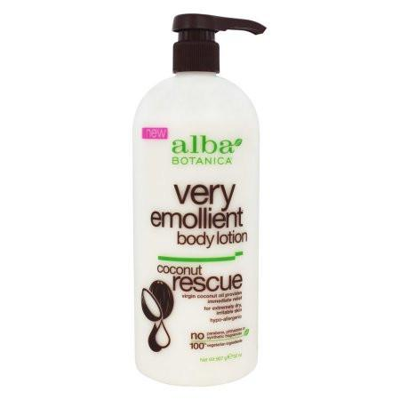 Alba Botanica Body Lotion - Very Emollient - Coconut Rescue - 32 oz - {shop_name}