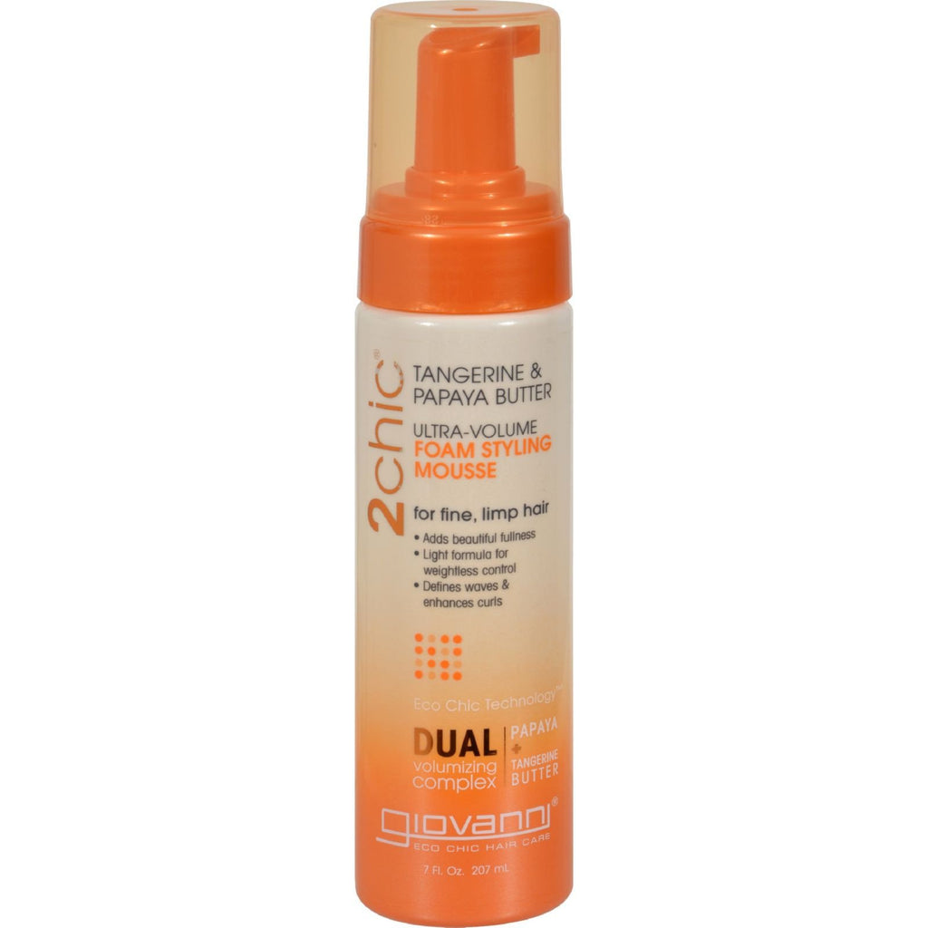 Giovanni Hair Care Products 2chic Style Mousse - Ultra-Volume - 7 fl oz - {shop_name}