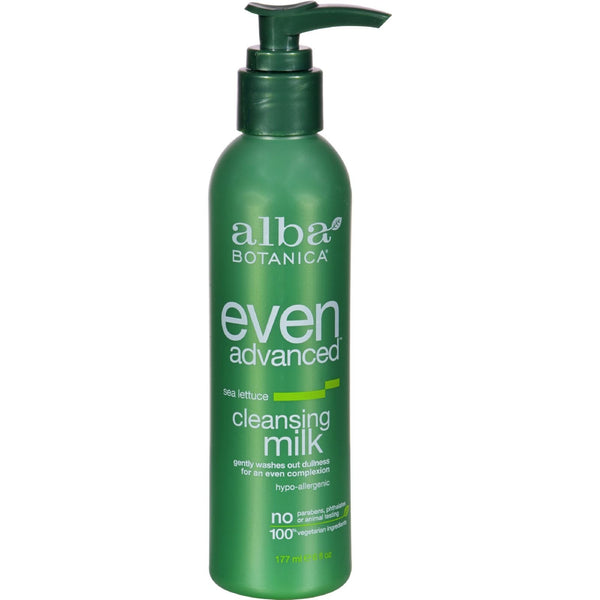 Alba Botanica Advanced Sea Lettuce Cleansing Milk - 6 fl oz - {shop_name}