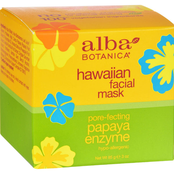 Alba Botanica Hawaiian Papaya Enzyme Facial Mask - 3 oz - {shop_name}