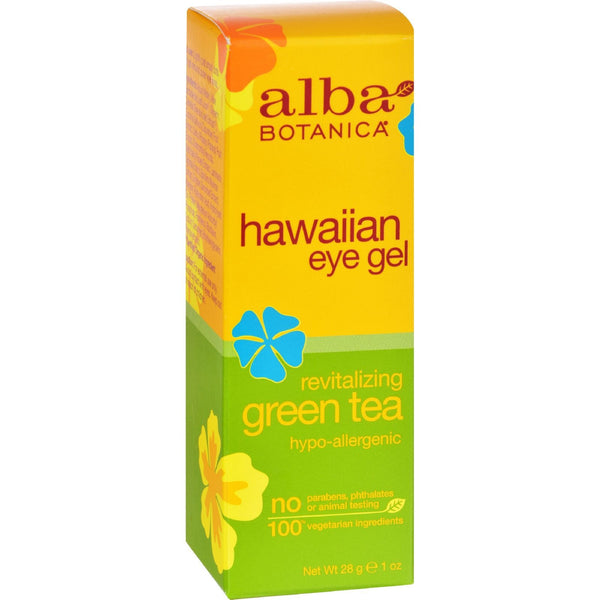 Alba Botanica Hawaiian Green Tea Eye Gel - 1 fl oz - {shop_name}