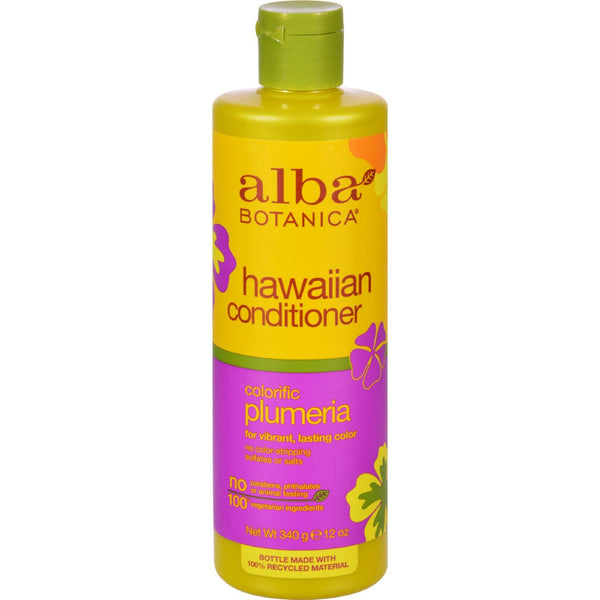 Alba Botanica Hawaiian Hair Conditioner Plumeria - 12 fl oz - {shop_name}