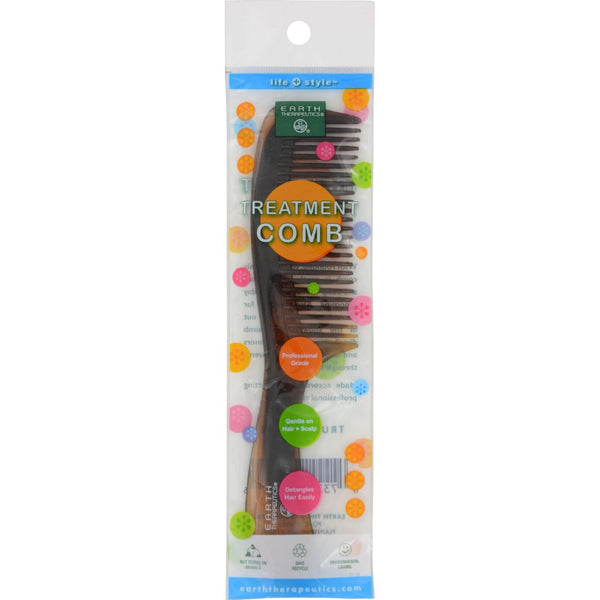 Earth Therapeutics Treatment Comb with Handle - 1 Comb - {shop_name}