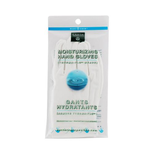 Earth Therapeutics Moisturizing Hand Gloves White - 1 Pair - {shop_name}