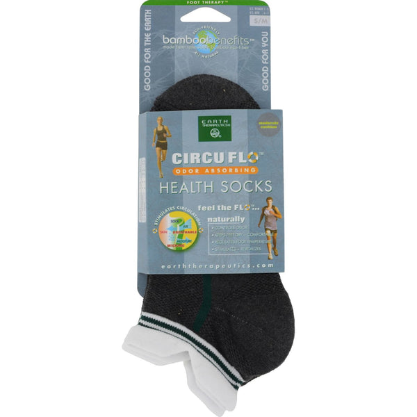 Earth Therapeutics CircuFlo Odor Absorbing Health Socks Small Medium - 1 Pair -Beauty Accessories- Allergy Free Me