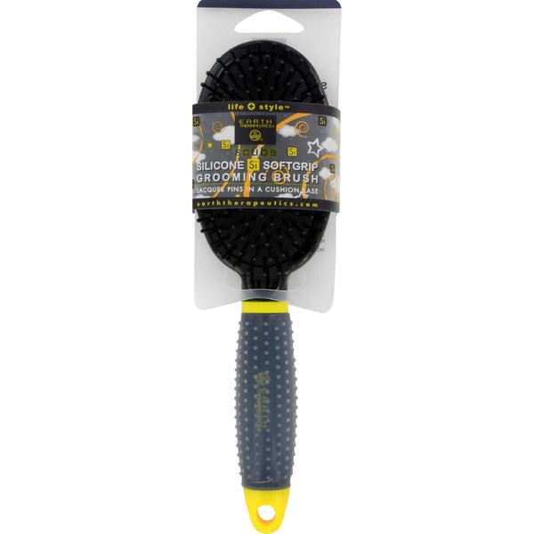 Earth Therapeutics Hair Brush - Scuba - Black - 1 Count - {shop_name}