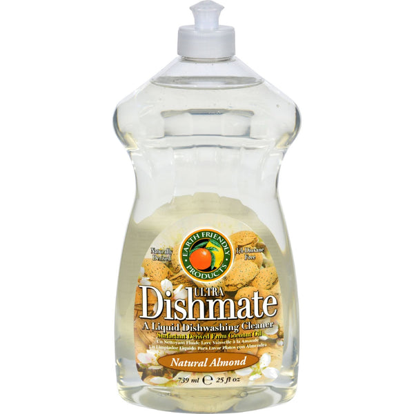 Earth Friendly Dishmate - Almond - 25 oz - Case of 6 -Dishwashing- Allergy Free Me