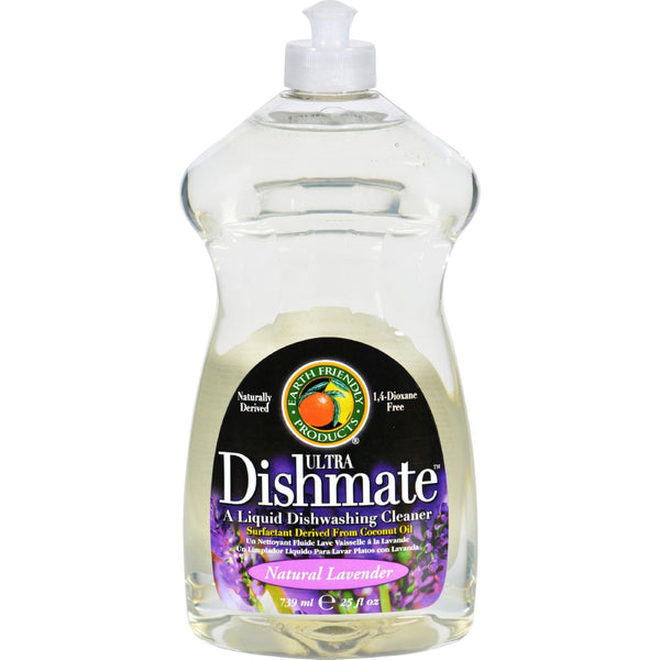 Earth Friendly Dishmate - Lavender - 25 oz - Case of 6 -Dishwashing- Allergy Free Me