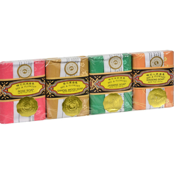 Bee and Flower Bar Soap Gift Set - 4 Bars -Bar Soap- Allergy Free Me