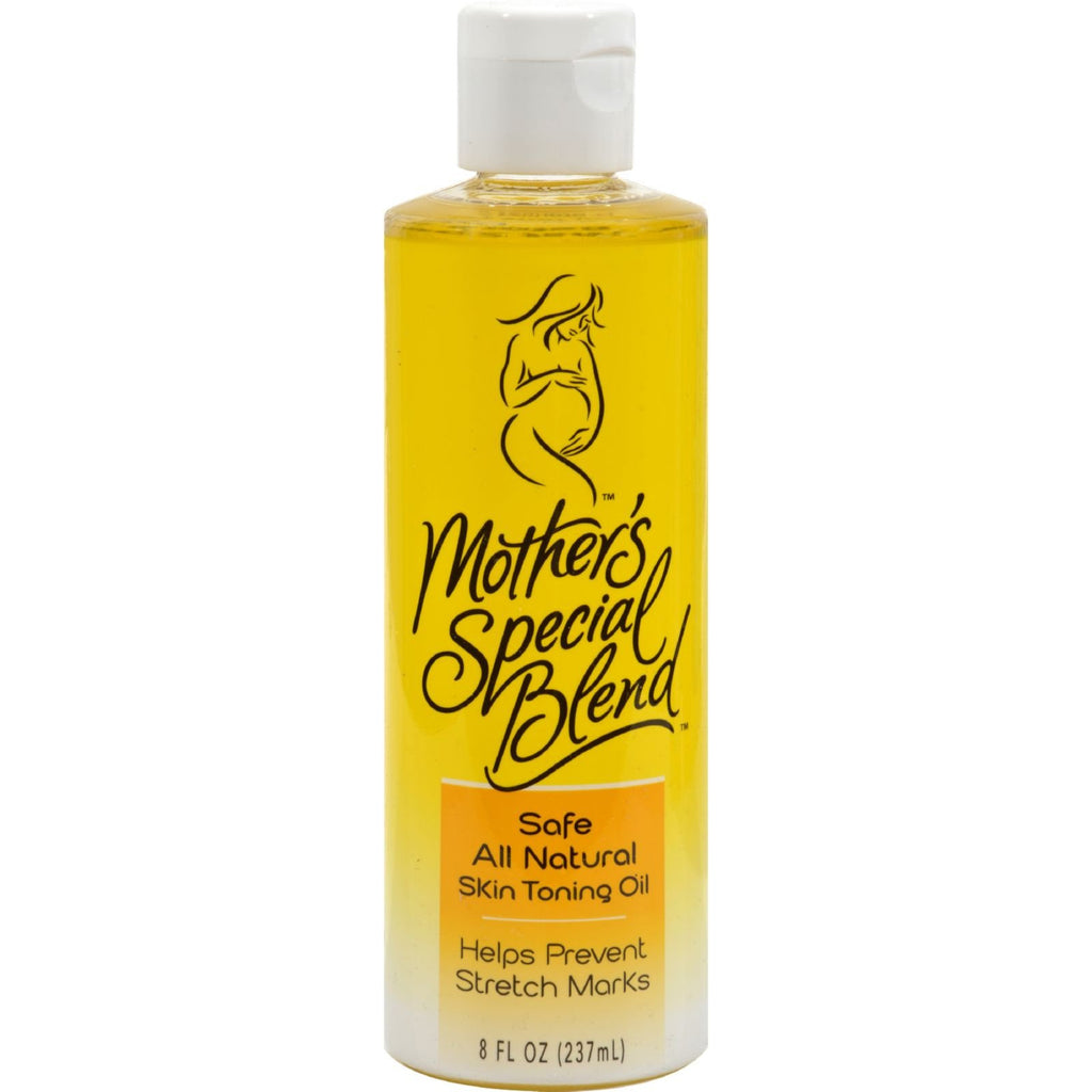 Mountain Ocean Mother's Special Blend Skin Toning Oil - 8 fl oz -Maternity Care- Allergy Free Me