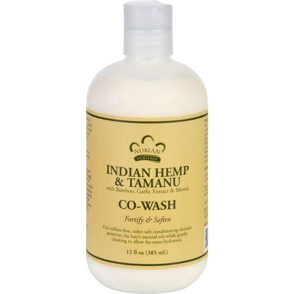 Nubian Heritage Conditioner - Co-Wash - Indian Hemp and Tamanu - 12 oz - {shop_name}