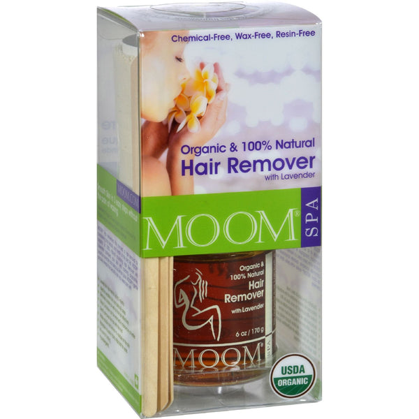 Moom Organic Hair Removal Kit With Lavender SPA Formula - 1 Kit - {shop_name}