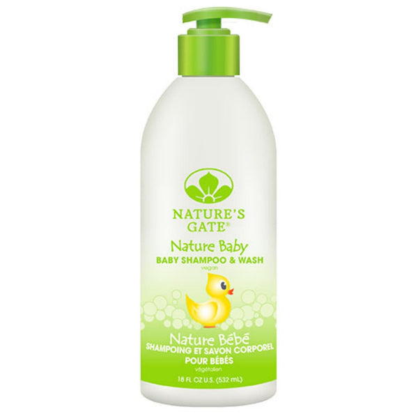 Nature's Gate Baby Shampoo and Wash - 18 fl oz - {shop_name}