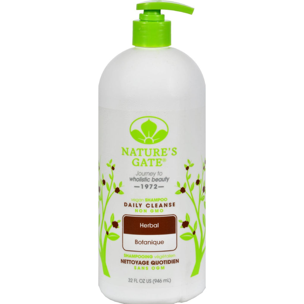 Nature's Gate Herbal Daily Cleansing Shampoo - 32 fl oz - {shop_name}