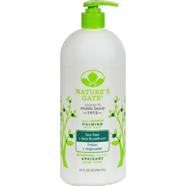Nature's Gate Tea Tree Calming Shampoo - 32 oz - {shop_name}