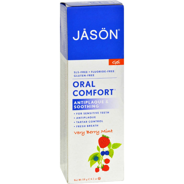 Jason Oral Comfort Gel Very Berry Mint - 4.2 oz - {shop_name}