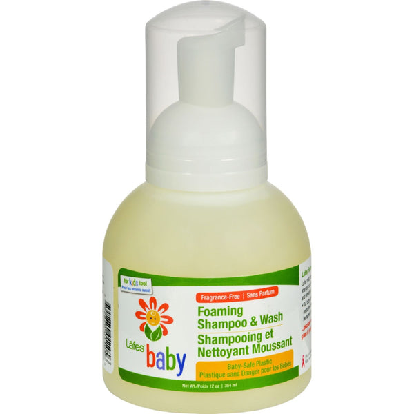 Lafe's Natural and Organic Baby Foaming Shampoo and Wash - 12 fl oz - {shop_name}