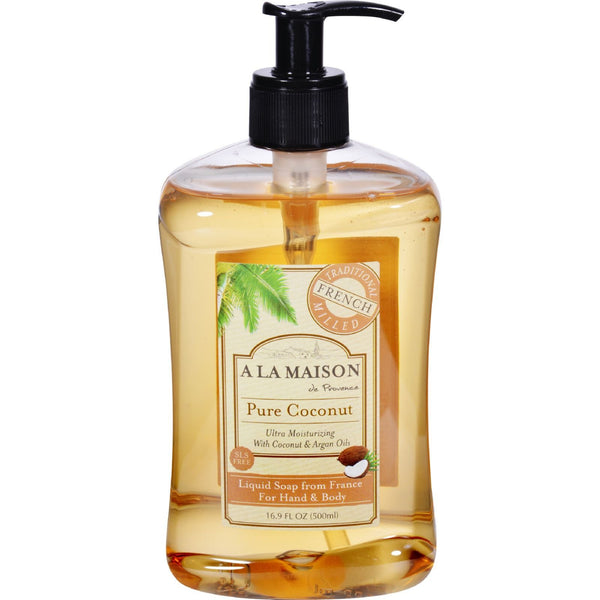 A La Maison French Liquid Soap - Coconut - 16.9 oz - {shop_name}