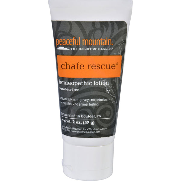 Peaceful Mountain Chafe Rescue Lotion - 2 oz -Skin Condition- Allergy Free Me